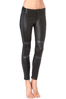 J BRAND L8005 Irina panelled leather jeans