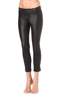 J BRAND Anja cuffed leather trousers