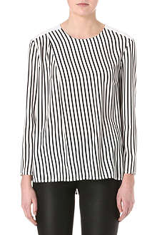 J BRAND FASHION Richey crepe blouse