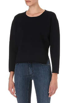 J BRAND FASHION Jill jersey sweatshirt
