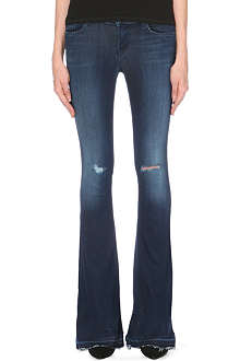 J BRAND 1197 Martini flared mid-rise stretch-denim jeans