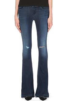 J BRAND 1197 Martini flared mid-rise stretch-denim jeans