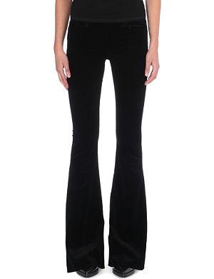 J BRAND Velvet Martini flared jeans