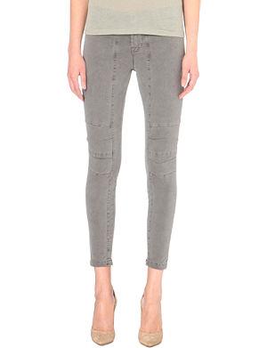 J BRAND Ginger skinny mid-rise jeans