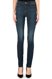 J BRAND Rail high-rise slim jeans