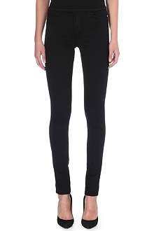J BRAND Bardot stacked skinny high-rise jeans
