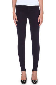 J BRAND Maria luxe sateen skinny high-rise jeans