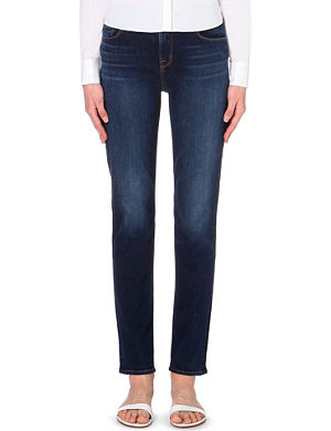J BRAND 23104 straight high-rise jeans