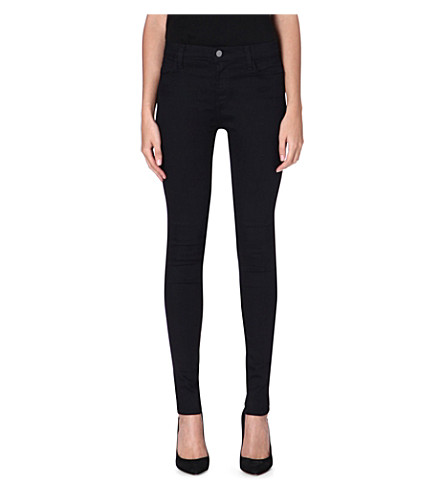 J BRAND Maria skinny high-rise jeans (Veil