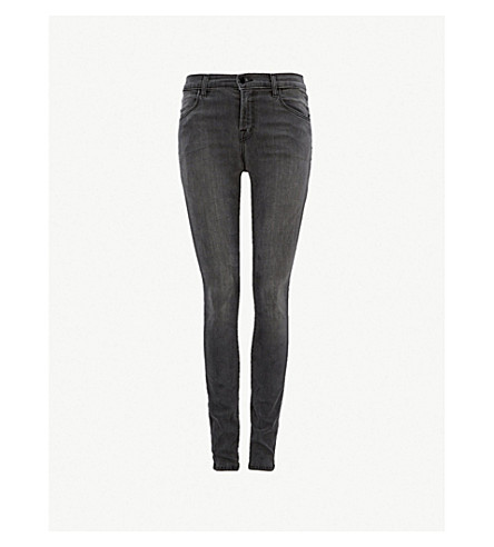 J BRAND Maria skinny high-rise jeans (Nightbird