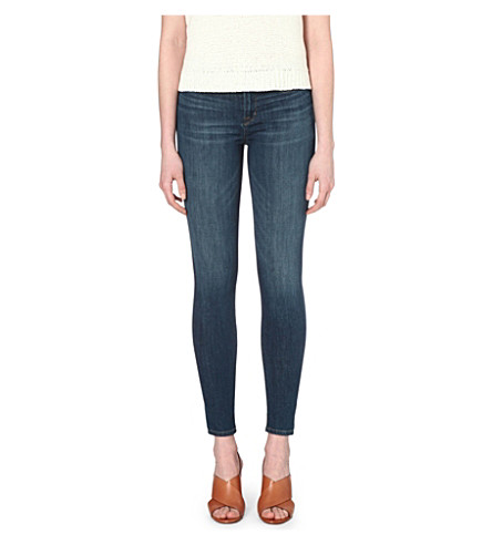 J BRAND Maria skinny high-rise jeans (Activate