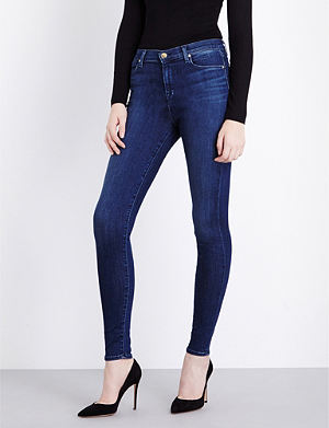 J BRAND Maria skinny high-waist stretch-denim jeans