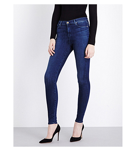 J BRAND Maria skinny high-rise jeans (Fix