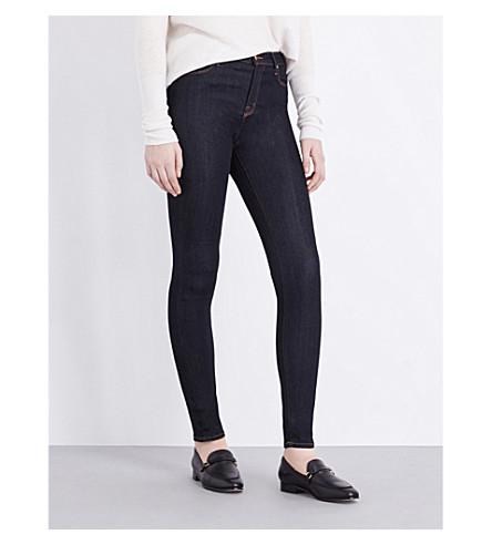 J BRAND 玛丽亚紧身高腰牛仔裤 (在 + 黑暗以后