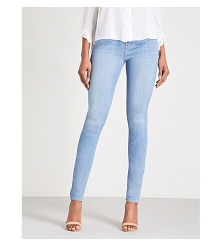 J BRAND Maria skinny high-rise jeans (Influentual