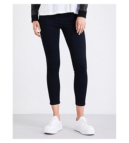 J BRAND Alana skinny high-rise jeans (Bluebird