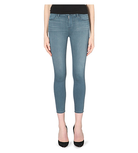 J BRAND 23127 Alana skinny high-rise jeans (Impulse