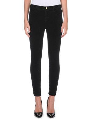 J BRAND Alana cropped skinny high-rise corduroy jeans