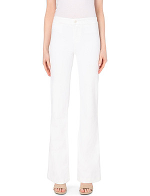 J BRAND 2387 flared high-rise jeans