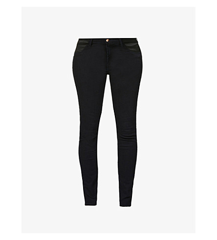 J BRAND Mama J skinny mid-rise maternity jeans (Bluebird