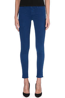 J BRAND Luxe Sateen super-skinny mid-rise jeans