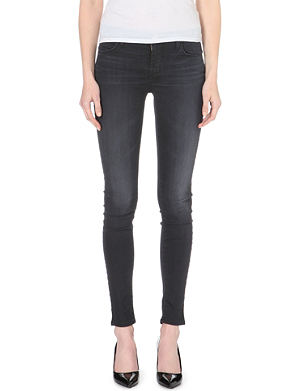 J BRAND 620 Stocking super-skinny mid-rise jeans