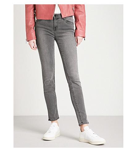J BRAND 620 super-skinny mid-rise jeans (Nightbird