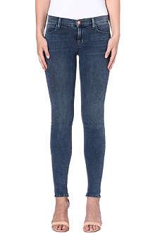 J BRAND 620 super-skinny mid-rise jeans