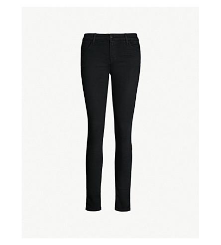 J BRAND 620 super-skinny mid-rise jeans (Seriously+black