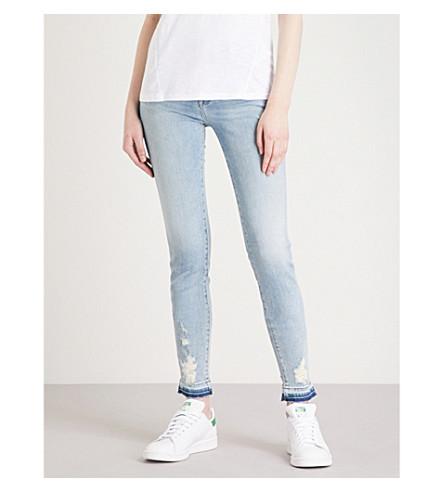J BRAND 620 super-skinny mid-rise jeans (Arise+destruct