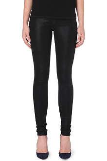 J BRAND 624 Maria coated skinny jeans