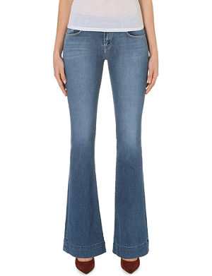 J BRAND 722 Love Story flared mid-rise jeans