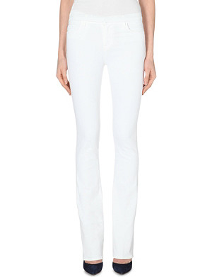 J BRAND Remy slim bootcut high-rise jeans