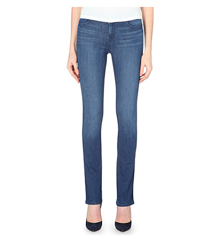 J BRAND Remy slim bootcut high-rise jeans (Sincere