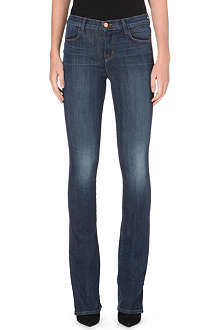 J BRAND Remy bootcut high-rise jeans
