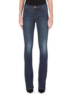 J BRAND Remy bootcut high-waist jeans