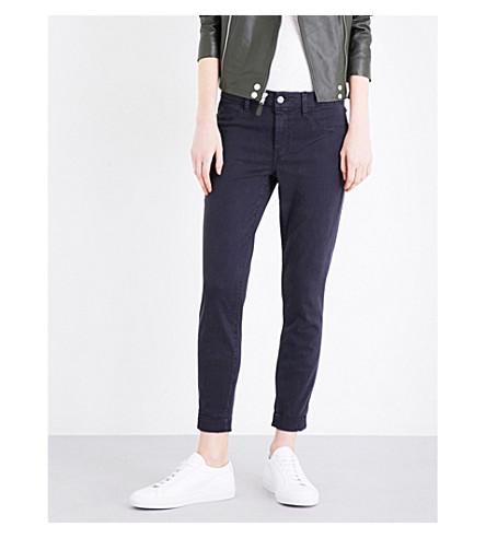 mid Anja navy jeans BRAND rise Dark skinny J cropped Zgw1Tyz