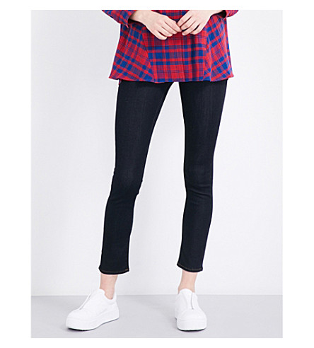 J BRAND 811 skinny mid-rise jeans (After+dark