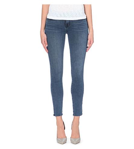 J BRAND 811 skinny mid-rise stretch-denim jeans (Rumour