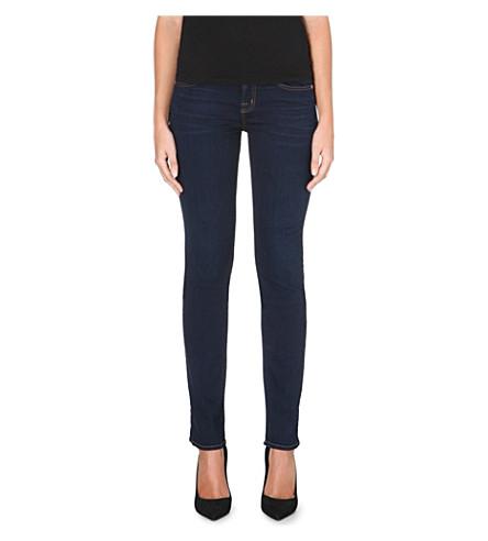 J BRAND Cigarette low-rise jeans (Ignite