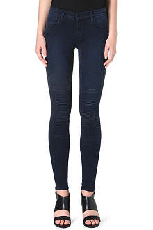 J BRAND Willow super-skinny stretch-denim jeans