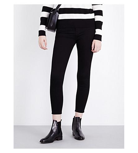 J BRAND Capri skinny cropped mid-rise jeans (Vanity