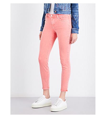 J BRAND 835 Capri skinny mid-rise jeans (Glowing
