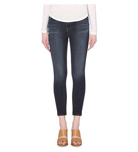 J BRAND 835 Capri skinny mid-rise jeans (Oblivion