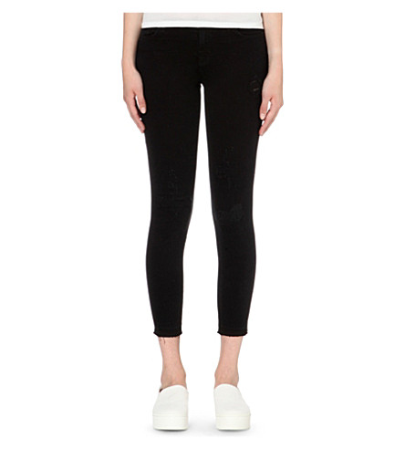 J BRAND Skinny mid-rise capri jeans (Exposure