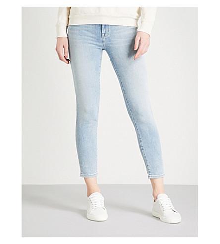 J BRAND 835 skinny mid-rise Capri jeans (Arise