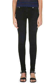 J BRAND Leah skinny mid-rise jeans