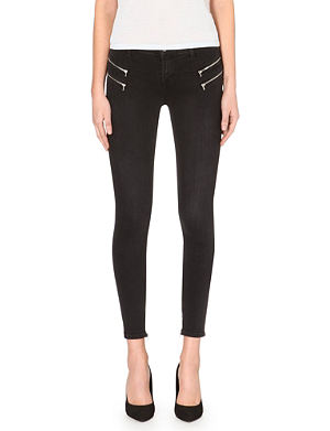 J BRAND 8470 Photo Ready Cass super-skinny mid-rise stretch-denim jeans