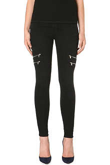 J BRAND 8870 Photo Ready Dee zip super skinny jeans
