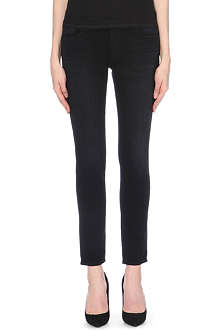 J BRAND 9077 Ellis slim-fit straight mid-rise stretch-denim jeans